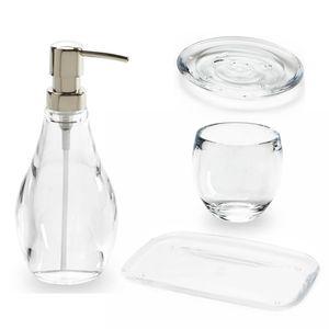 kit-Banheiro-Transparente-4PCS