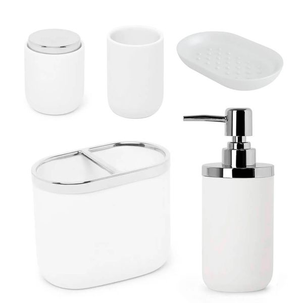 Kit-Banheiro-Branco-5PCS