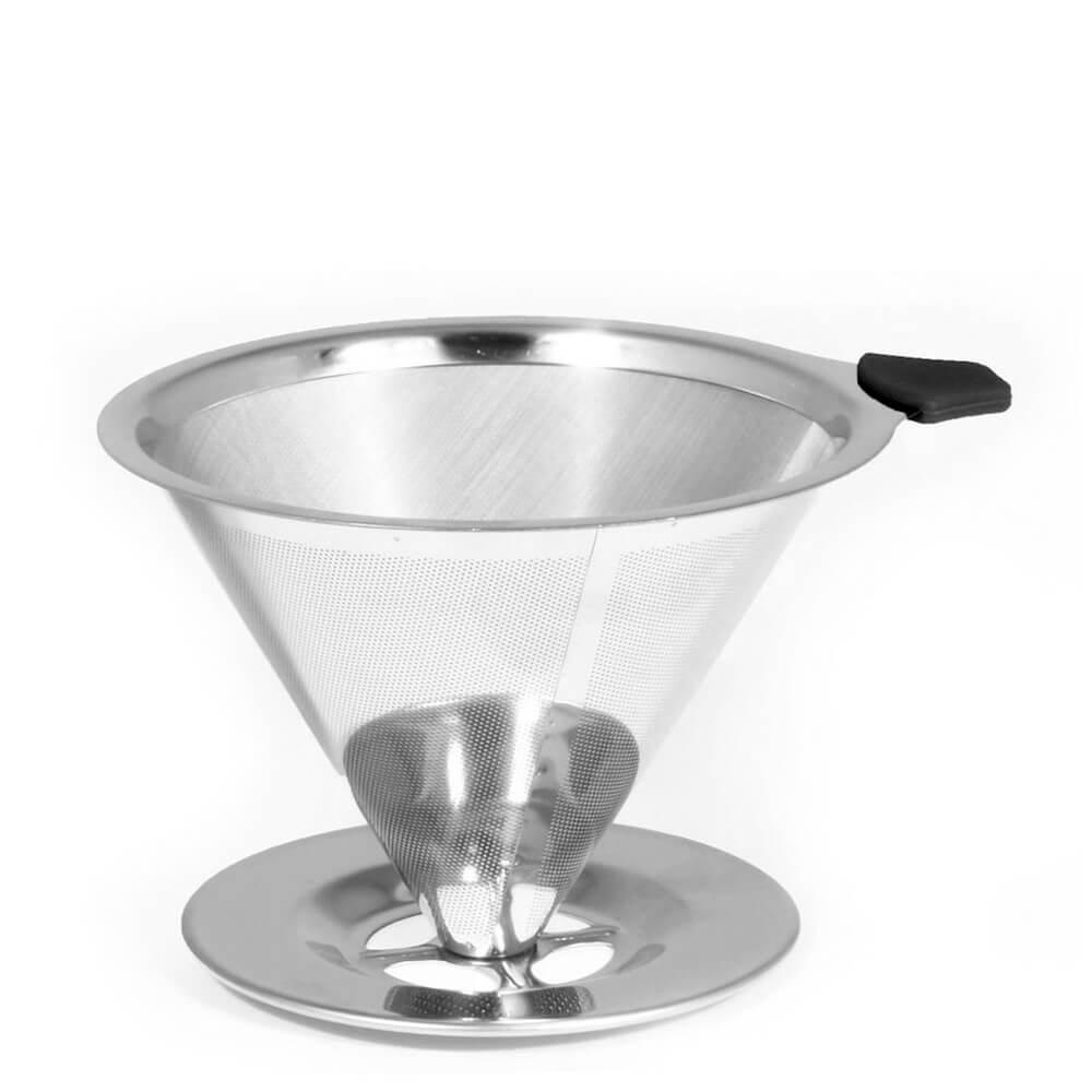 Coador de Café de Aço Inox 12,5X10X6,5CM