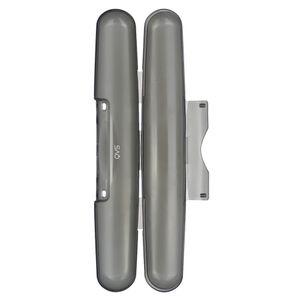 Porta-Escova-de-Dente-de-Plastico-Preta-21CM