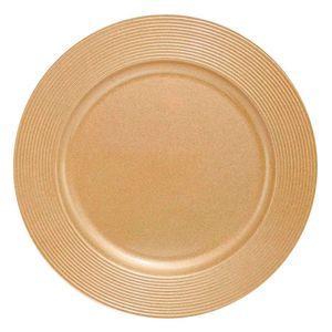 Sousplat-de-Plastico-Disco-Ouro-33CM