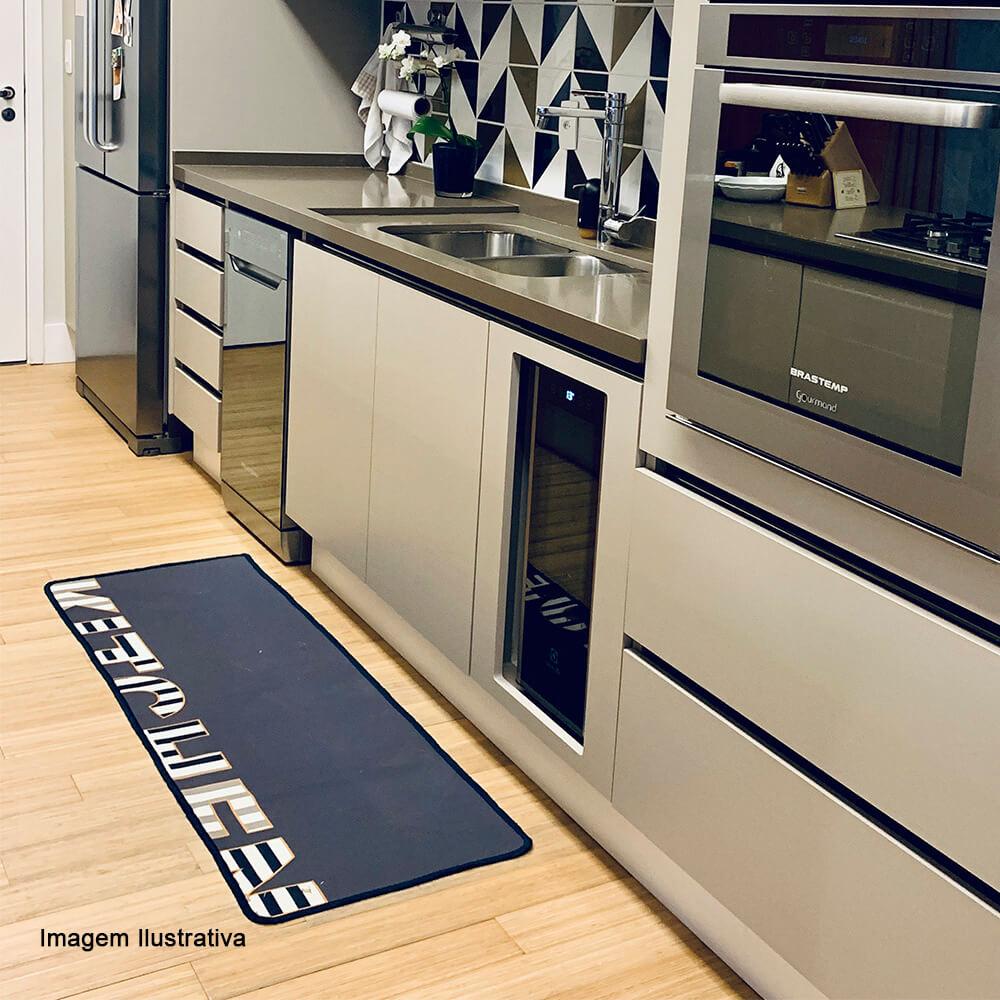 Passadeira Antiderrapante Cucina Auguri Casa 50X140CM
