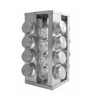 Porta-Condimentos-de-Vidro-com-Base-Giratoria-16PCS