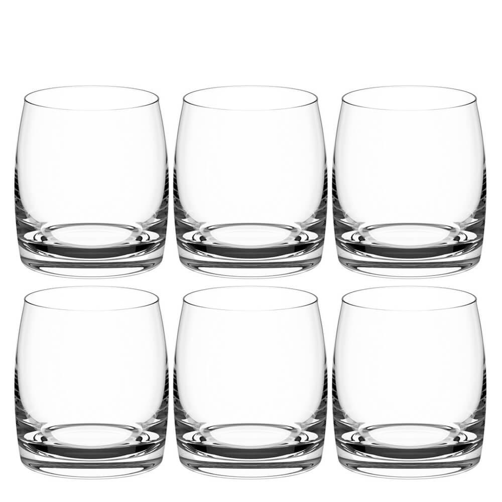 Copo de Cristal para Whisky Light Haus Concept 290ML 6PÇS