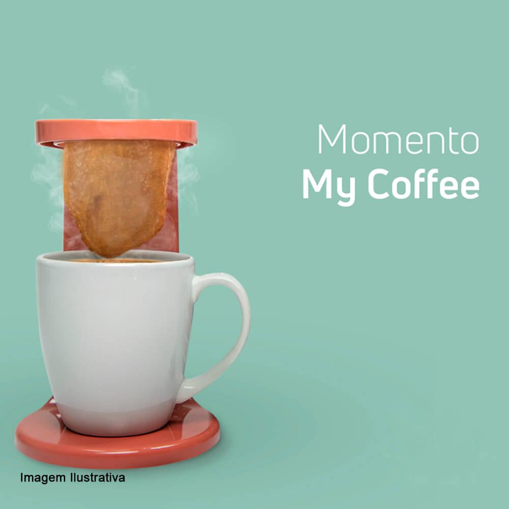 Cafeteira My Coffee OU Rosa 17CM