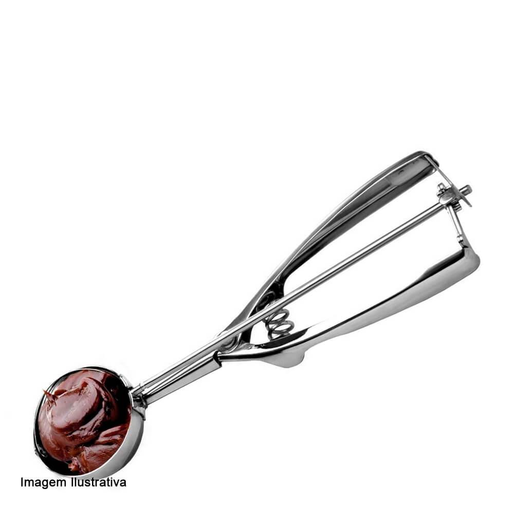 Colher de Inox Dosadora para Brigadeiro 19CM