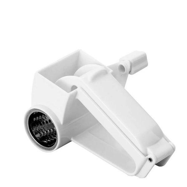 Ralador-de-Queijo-Manual-de-Plastico-Branco-15CM