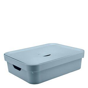 Cesta-Organizadora-Plastica-Cube-OU-Tampa-Azul-Glacial-35X45X13CM