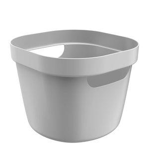 Cesta-Organizadora-Plastica-Flexivel-Cube-OU-Chumbo-21X20X16CM