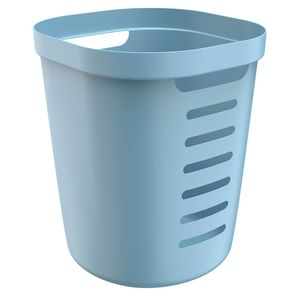 Cesto-de-Roupa-de-Plastico-Flexivel-Cube-OU-Azul-Glacial-38X39X46CM