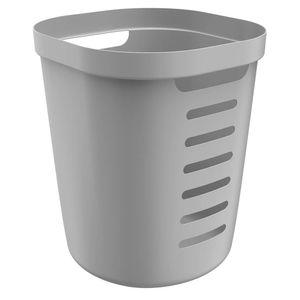 Cesto-de-Roupa-de-Plastico-Flexivel-Cube-OU-Chumbo-38X39X46CM