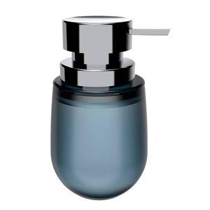 Porta-Sabonete-Liquido-de-Polipropileno-Belly-Soft-OU-Azul-Glacial-400ML