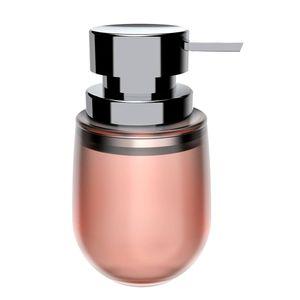 Porta-Sabonete-Liquido-de-Polipropileno-Belly-Soft-OU-Rosa-400ML