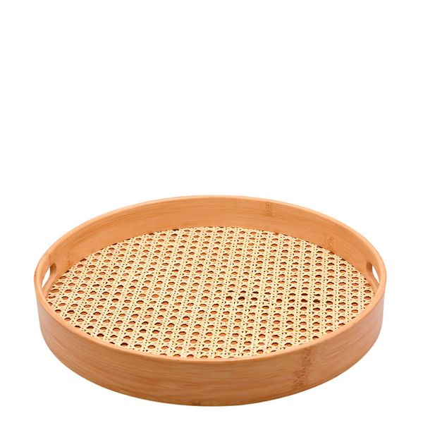 Bandeja-de-Bambu-com-Textura-de-Palha-35CM