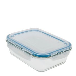 Pote-de-Vidro-Borossilicato-Hermetico-Retangular-Azul-1040ML