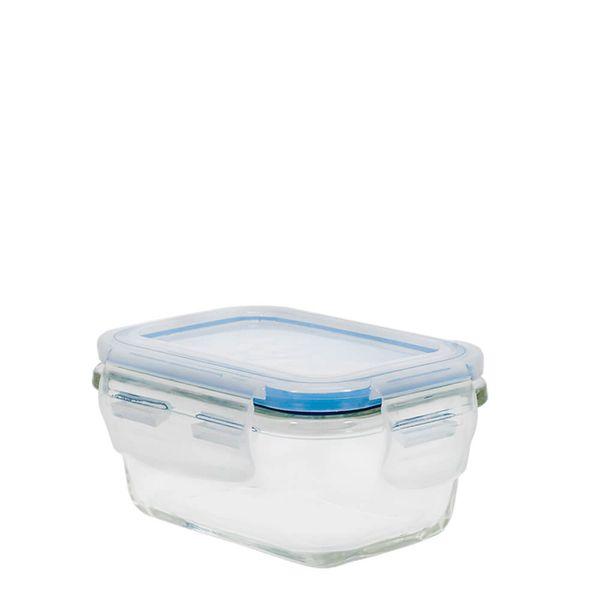 Pote-de-Vidro-Borossilicato-Hermetico-Retangular-Azul-160ML