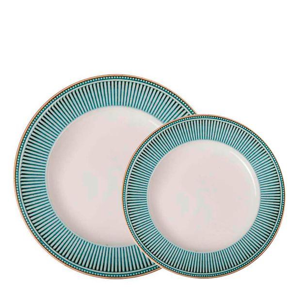Conjunto-de-pratos-Corona-Toscana-Azul---12PCS
