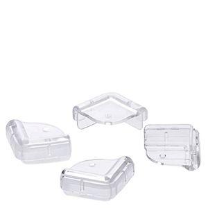 Protetor-de-Canto-de-Moveis-de-PVC-Transparente-4PCS