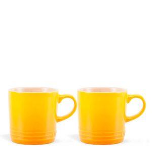 Caneca-de-Ceramica-Cappuccino-Le-Creuset-Amarelo-Soleil-200ML
