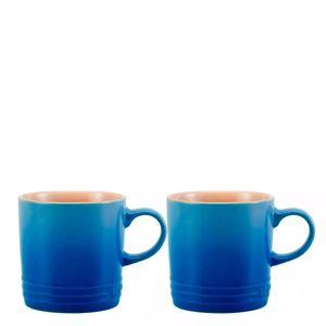 Caneca-de-Ceramica-Cappuccino-Le-Creuset-Azul-Marseille-200ML