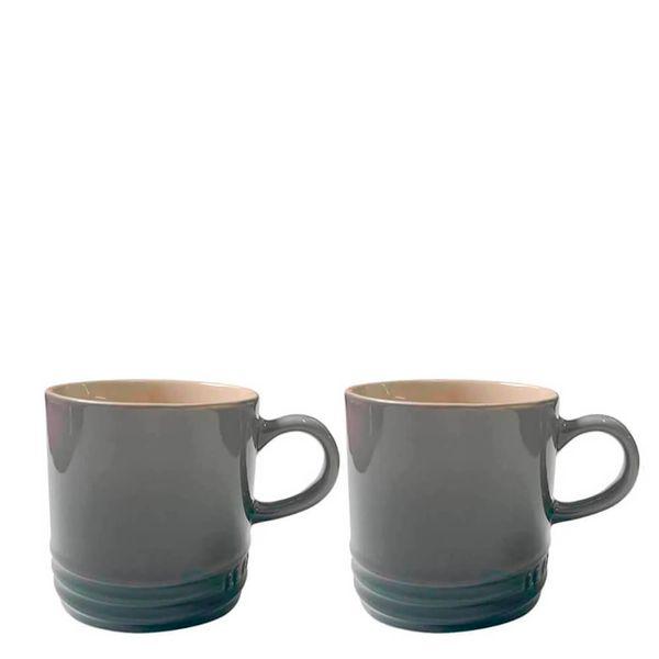 Caneca-de-Ceramica-Cappuccino-Le-Creuset-Flint-200ML
