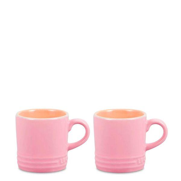 Caneca-de-Ceramica-Expresso-Le-Creuset-Chiffon-Rosa-100ML