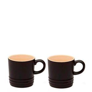Caneca-de-Ceramica-Expresso-Le-Creuset-Black-Onyx-100ML