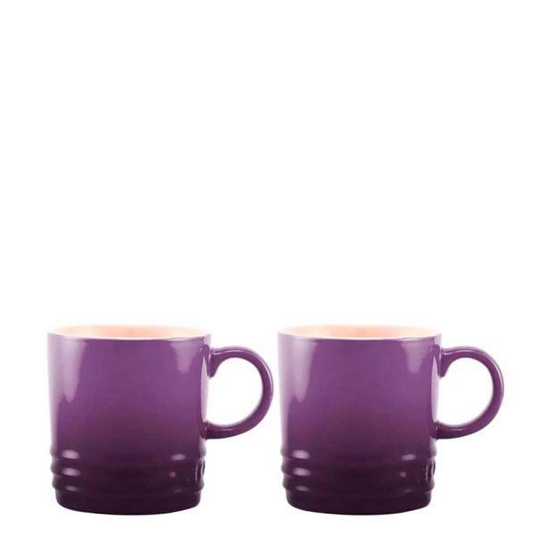 Caneca-de-Ceramica-Expresso-Le-Creuset-Violeta-100ML