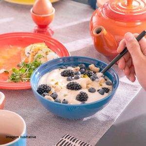 Bowl-de-Ceramica-Cereais-Le-Creuset-Azul-Caribe-16CM