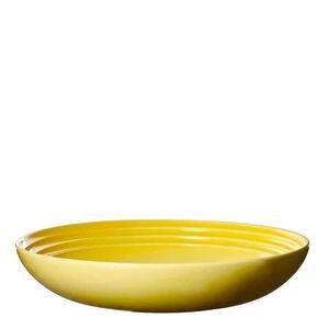 Prato-para-Massa-de-Ceramica-Le-Creuset-Amarelo-Soleil-22CM