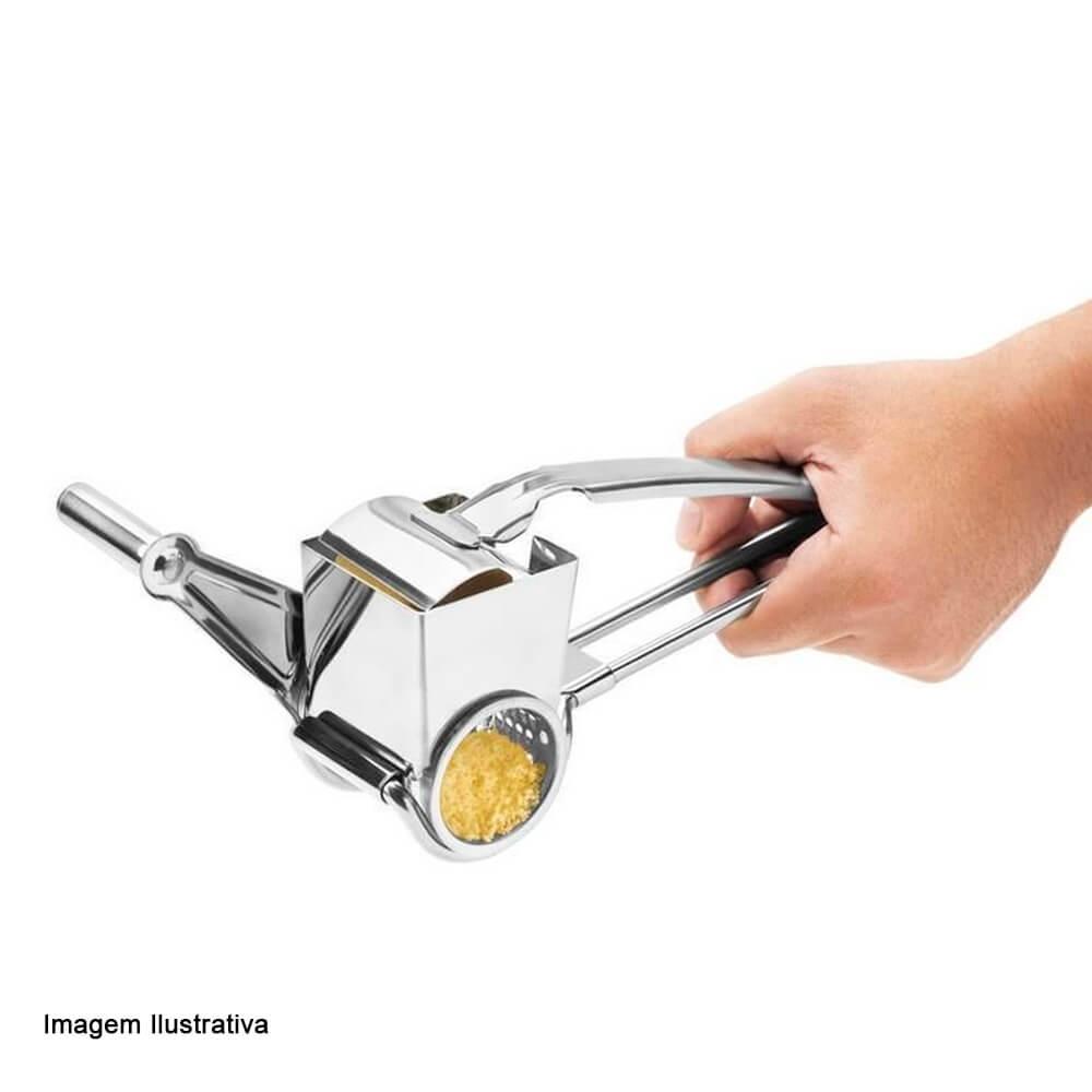 Ralador de Queijo de Aço Inox Manual 20CM