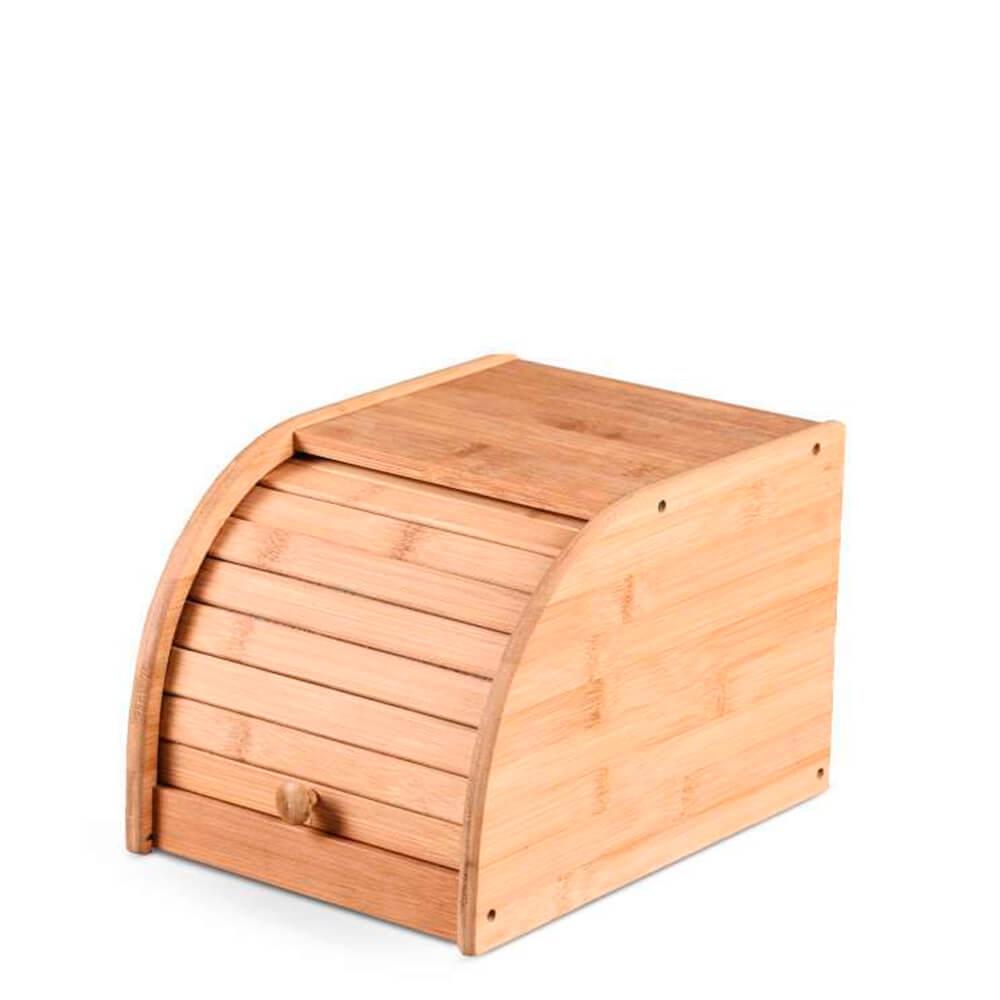 Porta Pão de Bambu 20X27X18CM