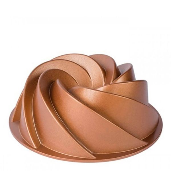 Forma-Antiaderente-de-Aluminio-Marissa-Dourada-24CM