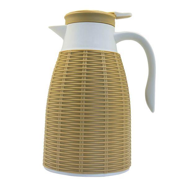 Garrafa-Termica-Rattan-Dynasty-Bege-1L