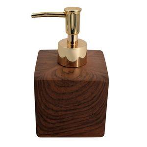 Porta-Sabonete-Liquido-de-Ceramica-Marrom-400ML