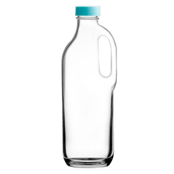Garrafa-de-Vidro-Basic-Pasabahce-com-Tampa-Azul-14L