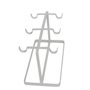 Suporte-para-Xicaras-de-Metal-Grid-Line-Branca-15X19CM