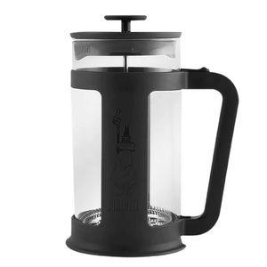 Cafeteira-Bialetti-French-Press-Basic-Preta-1L