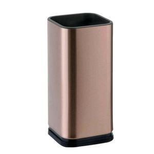 Porta-Facas-de-Inox-Bronze-10X23CM