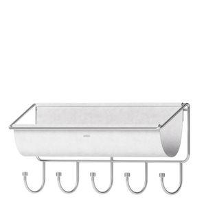 Organizador-de-Parede-de-Metal-Hammock-Umbra-Cinza-41X17CM
