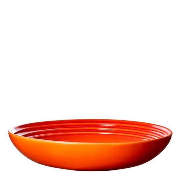Prato-de-Ceramica-para-Massa-Le-Creuset-Laranja-22CM