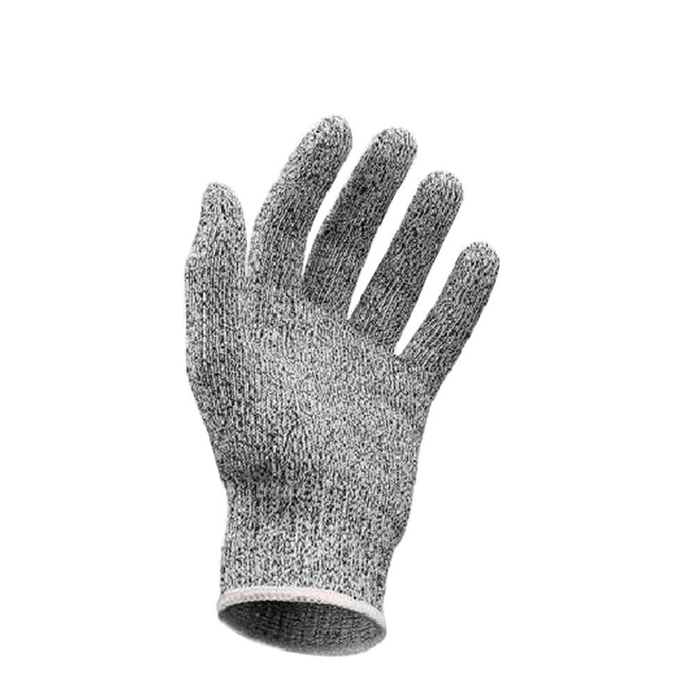 Luva de Tecido e Fibra de Vidro Anti Corte Cinza 22CM