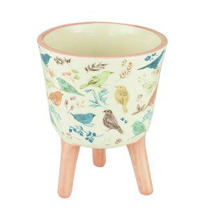 Cachepot-de-Ceramica-com-Pe-Birds-and-Flowers-13X16CM