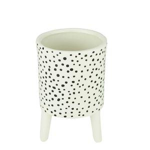 Cachepot-de-Ceramica-com-Pe-Black-Dotty-98X148CM