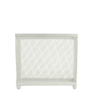 Porta-Guardanapo-de-Metal-Grid-Branco-14X5X13CM