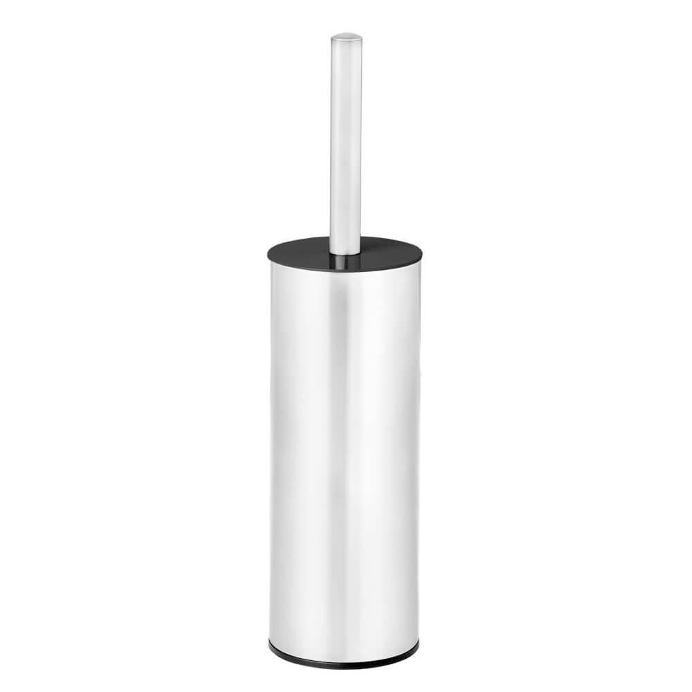 Escova Sanitária com Suporte de Aço Inox 10X26CM