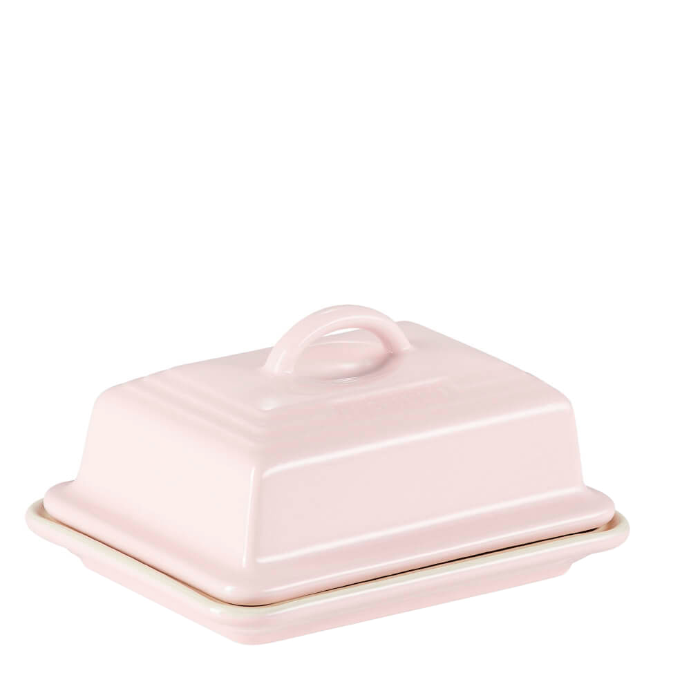 Manteigueira de Cerâmica Le Creuset Chiffon Rosa 9X12CM