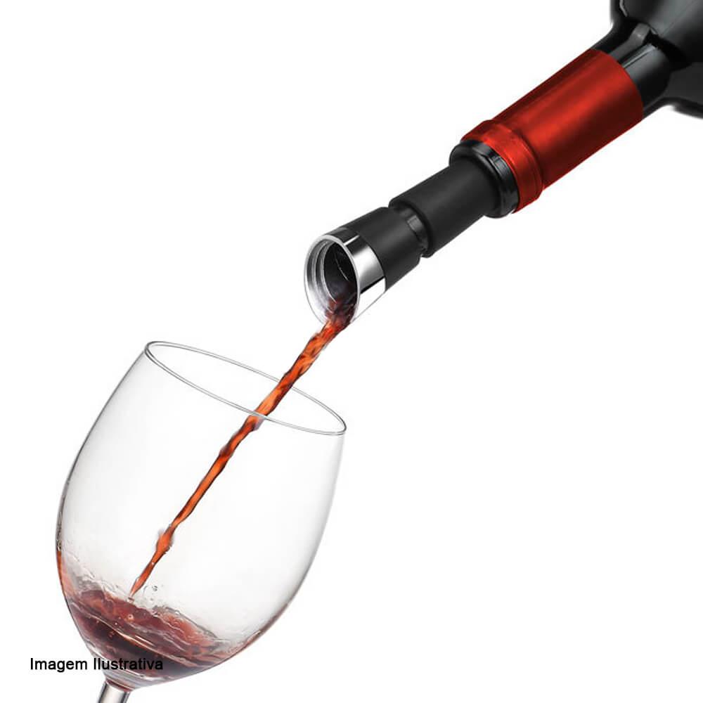 Aerador de Vinho de Aço Inox Le Creuset Black Onyx 11,5CM