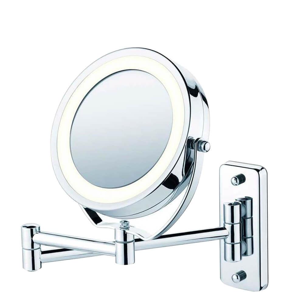 Espelho de Aumento 5X para Parede com Luz