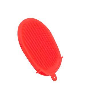Esponja-Luva-de-Silicone-Vermelha-13X10CM